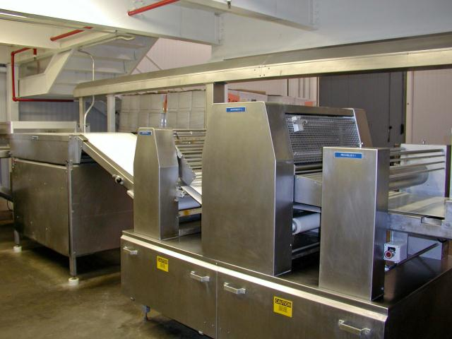 Rademaker Laminating and Sheeting Dough Line