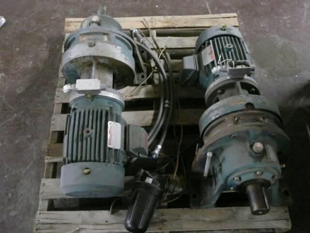 Reliance Electric Motors (2 Available)